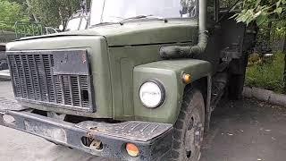 УШАТАННЫЙ восстановленный ГАЗ 3309 с консервации