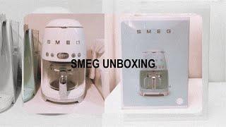 Smeg Drip Coffee Maker Unboxin…