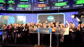 2013 USHAA Bravo Award NASDAQ Closing Bell Ceremony Thumbnail
