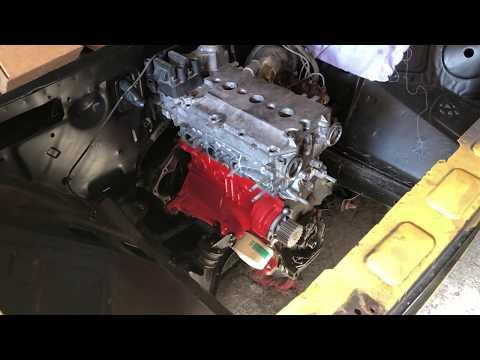 Как снять двигатель ВАЗ КЛАССИКА БЕЗ КПП!!!