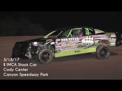 3/18/17 IMCA Stock Car Canyon Speedway Park Main Event Win
