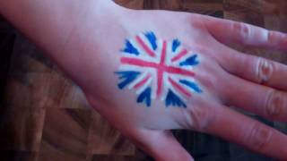 How to draw a Union Jack - 1 minute tutorial