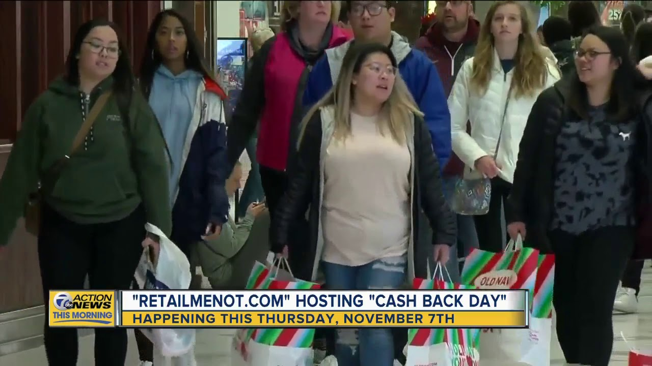 RetailMeNot's 'Cash Back Day' gives you 20% cash back at several ...