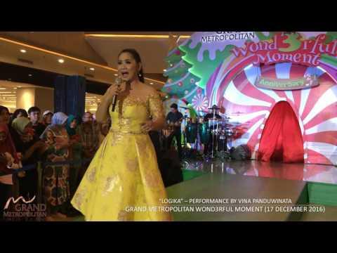 LOGIKA - VINA PANDUWINATA Live Performance at GRAND METROPOLITAN BEKASI