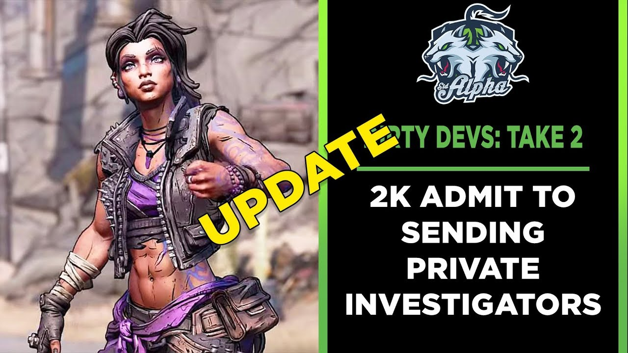 Dirty Devs Update: 2K and Take Two admit to sending Private Investigators