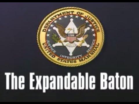 The Expandable Baton - Federal Law Enforcement Training Film