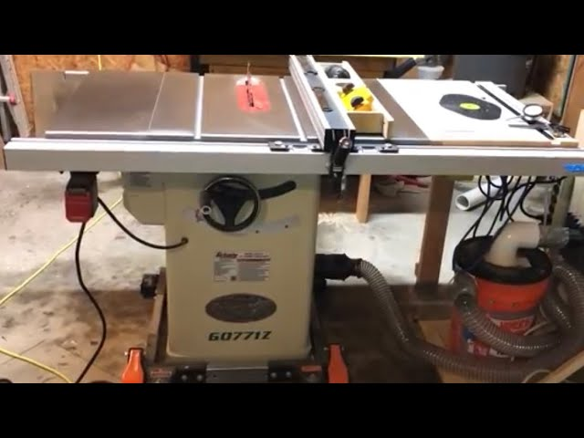 Grizzly G0771z 10 Hybrid Table Saw Review Youtube