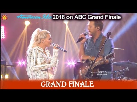 "Gab Barrett and Luke ran duet ""Most People Are Good""   American Idol 2018  Grand Finale"