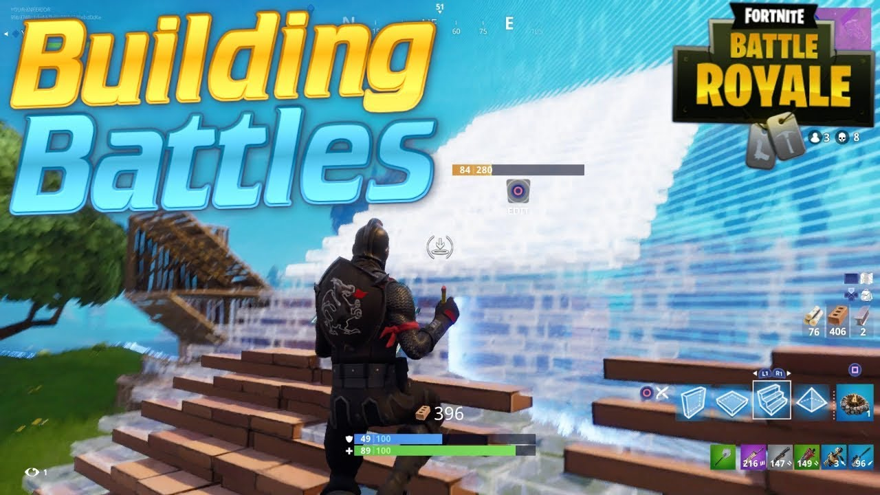fortnite how to win all build battles