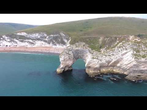 Drone Footage - South West Coast of England