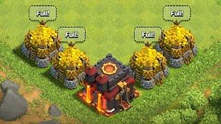 4 Million Gold Goes Bye Bye, No Troll - Clash of Clans