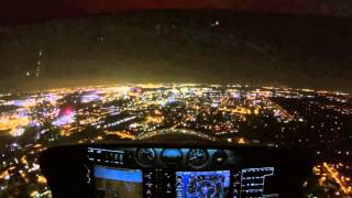 Night Flight Into Chicago O