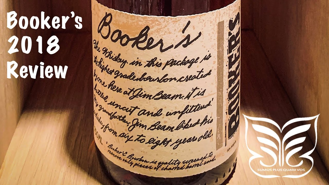 Booker's Bourbon 2018 Batches Review - Flight Club
