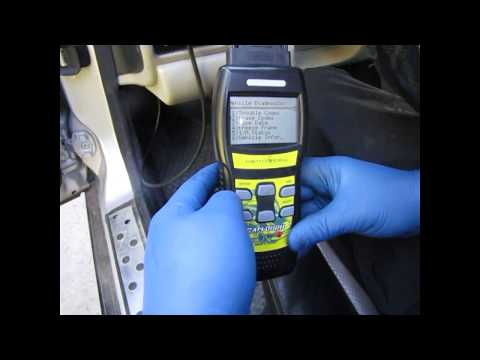 How to replace the Cam position sensor and the MAP Sensor; P0105, P1519