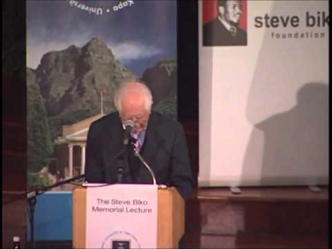Sir Sydney Kentridge: Inquest into the Death of Steve Biko
