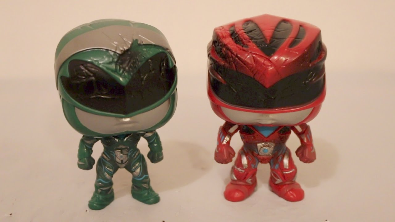Power Rangers Movie Pop Rita Zordon Vinyl Figures Review