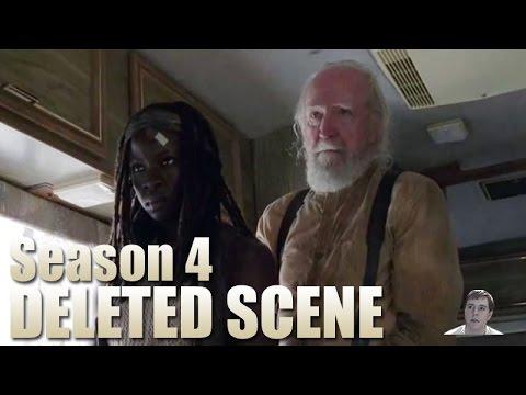 A Deleted The Walking Dead Scene Fills In A Season 1