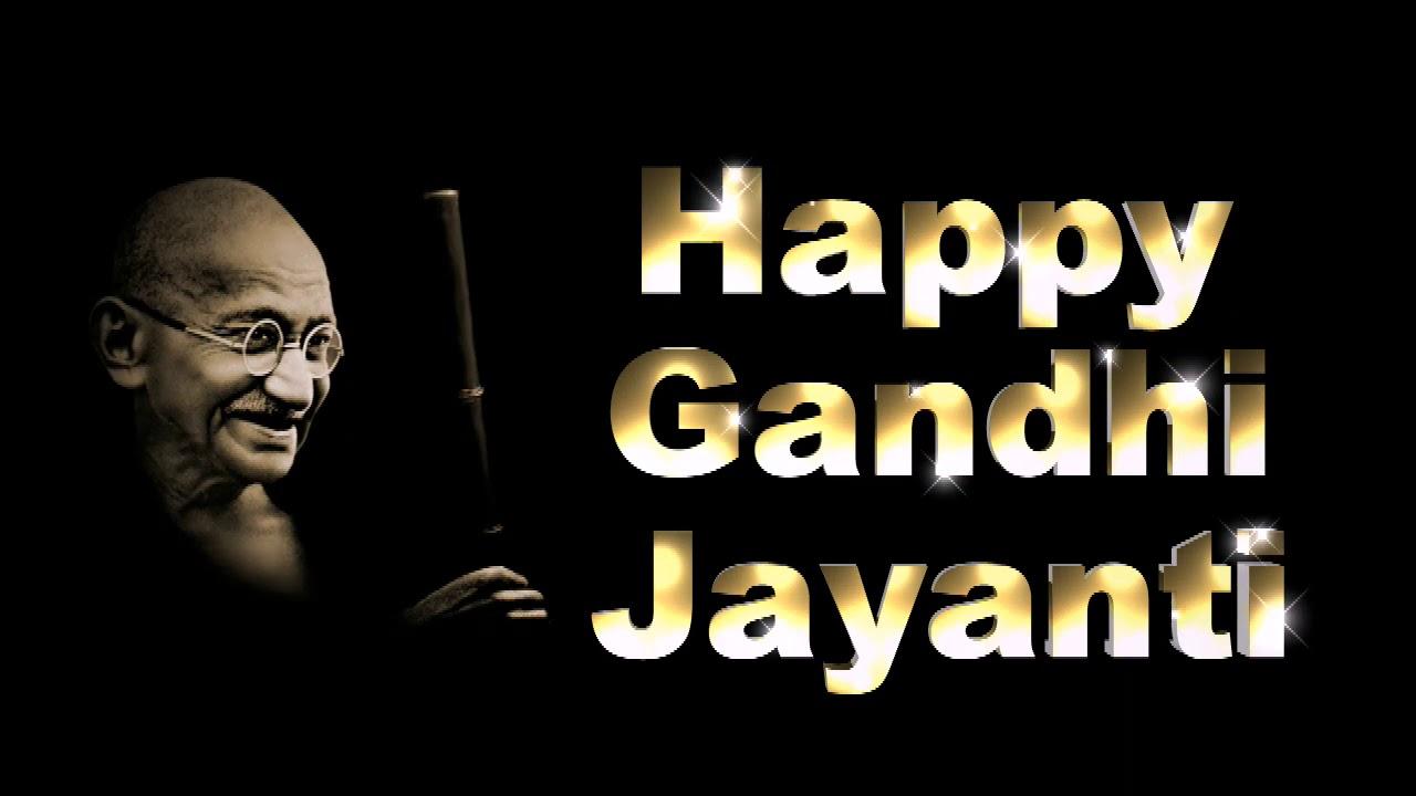 Image result for gandhi jayanti gif