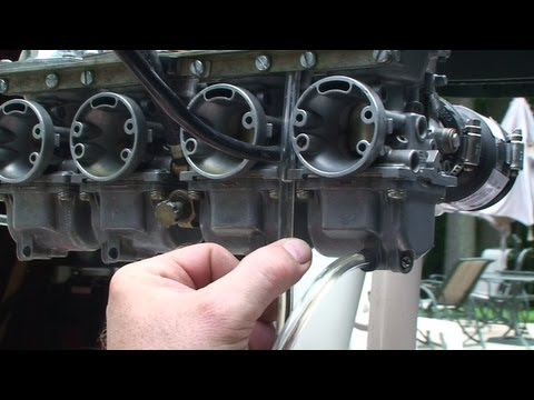 How To Adjust A Yamaha Carburetor