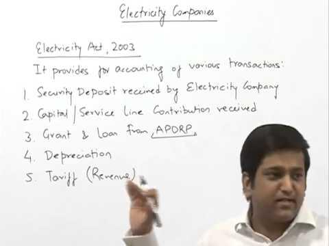 Electricity Company Accounts by CA Raj K Agrawal