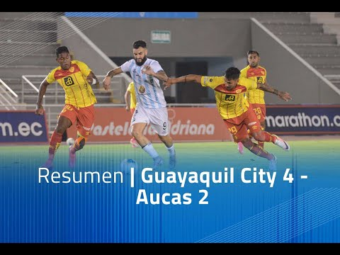 Guayaquil City Aucas Goals And Highlights
