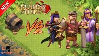 Giant Cannon VS All Heroes    Clash of clans private server    MiroClash    By Lone wolf