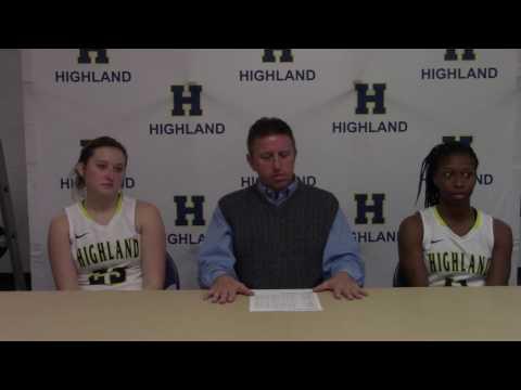 Post Game- Highland WBB vs. Missouri Valley College JV
