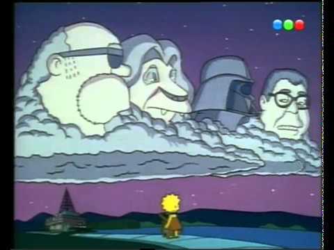 Debes vengar mi muerte kimba, digo simba (Los Simpson)