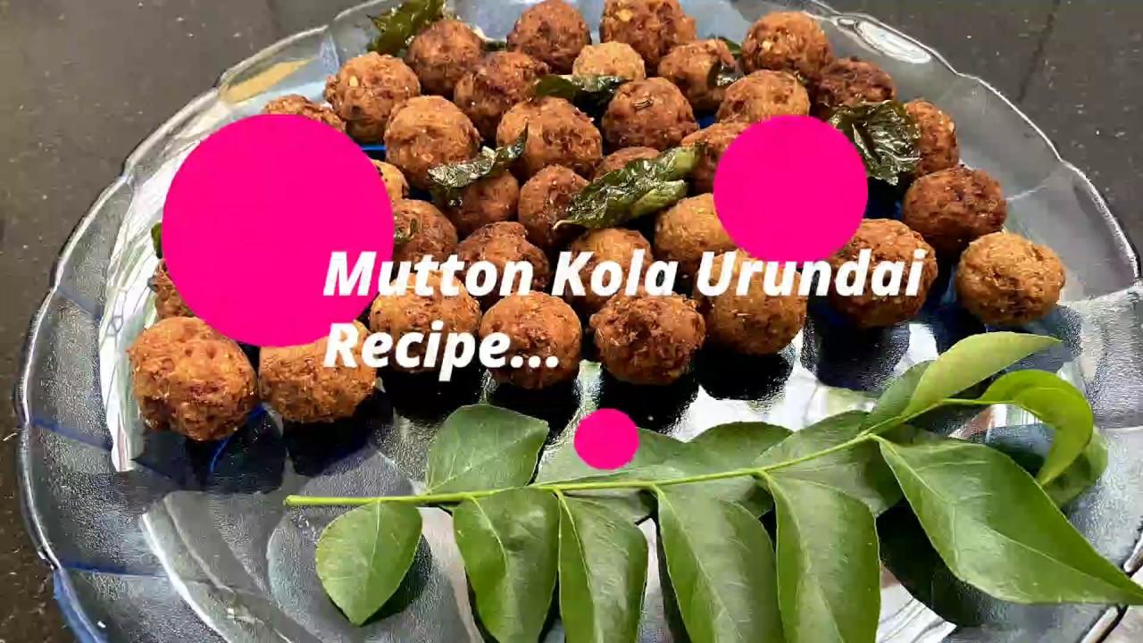 Mutton Kola Urundai Recipe   Mutton Keema Balls   Lockdown N.V Recipe   Gu Gu's Kitchen