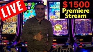 Live🔴 Casino ✦ PREMIERE STREAM ✦  $1500 Live Slot Play w/NG Slot | Max Bet Slot Play | Slot Wins