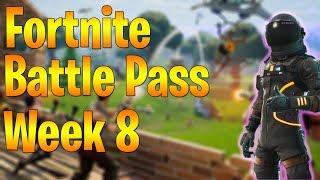 Fortnite Battle Pass Challenge Guide: Saison 3 Semaine 8