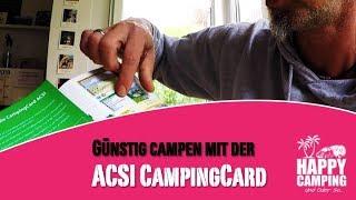ACSI Stellplatzführer und CampingCard   Happy Camping