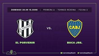 El Porvenir 0 - 2 Boca | #VamosLasPibas | Fútbol femenino