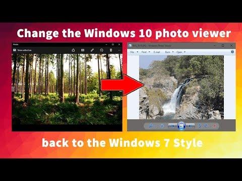 how to change default photo viewer windows 10
