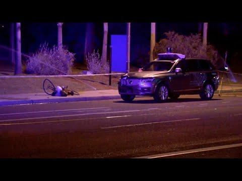 Uber suspends selfdriving car tests after crash