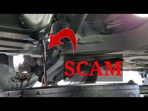 Watch For This Oil Change SCAM!
