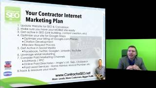 Internet Marketing Plan for Contractors & Home Service Businesses
