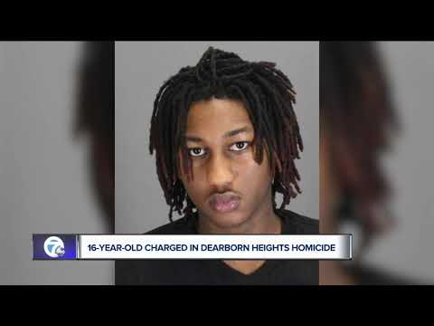 16-year-old charged in Dearborn Heights homicide
