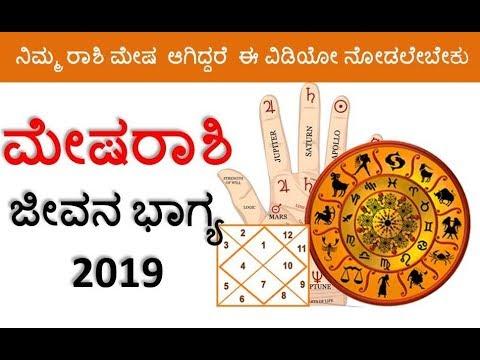 Mesha rashi Kannada rashi bhavishya 2019 Aries kannada astrology predictions