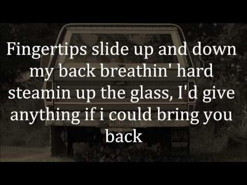 Keith Urban - Somewhere In My Car Lyrics