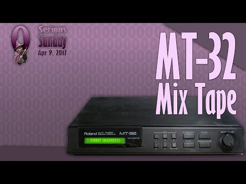 Serious Sunday: MT-32 Mix Tape - A selection of classic PC MIDI game intros on the Roland MT-32