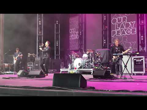 Our Lady Peace - Stop Making Stupid People Famous. 6/14/19 CMAC Center