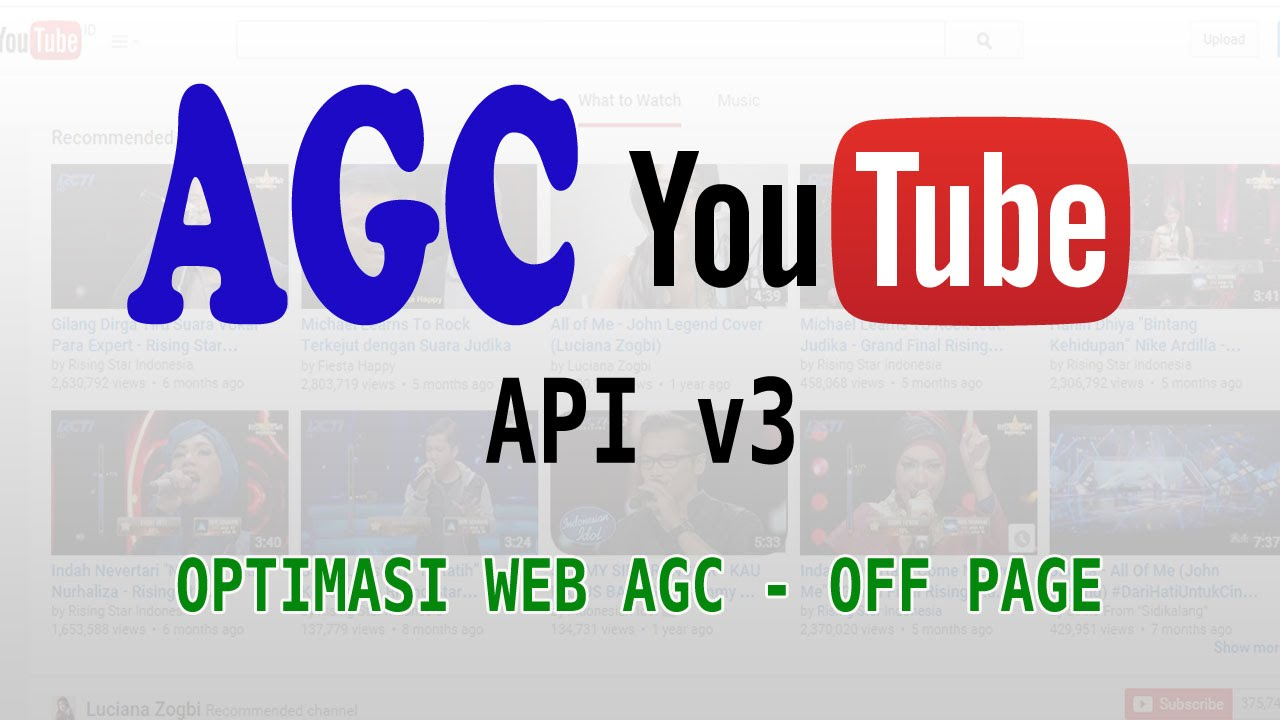 Optimasi Web AGC - Off Page SEO - YouTube