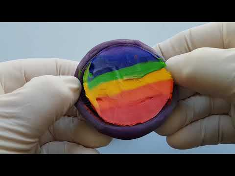 frozen-paint-mixing:-short-and-sweet-oreo-compilation-asmr
