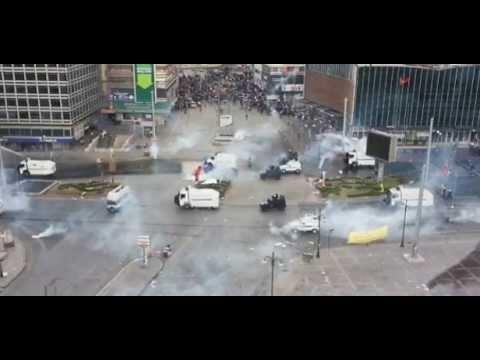 Ankara'da Eylemcilere Müdahale Son Dakika