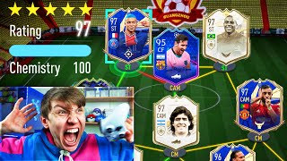 97 RATED!! - LUCKIEST 192 RATED FUT DRAFT EVER!! (FIFA 21)
