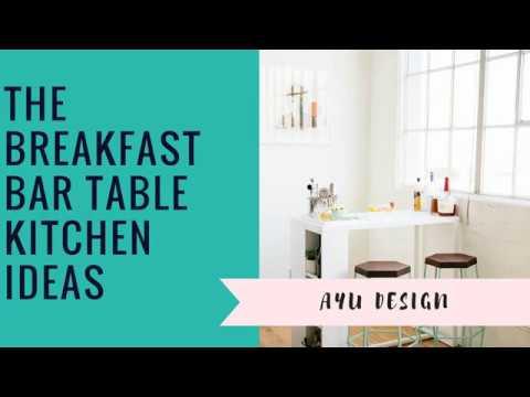 The Breakfast Bar Table Kitchen Ideas