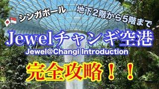 【🇸🇬シンガポールJEWEL(ジュエル)チャンギ空港を完全攻略!! / Jewel Singapore Changi Airport 】