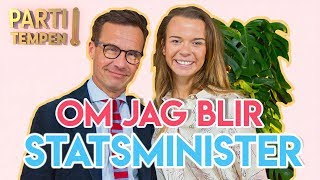 PARTITEMPEN X Ulf Kristersson (Moderaterna)