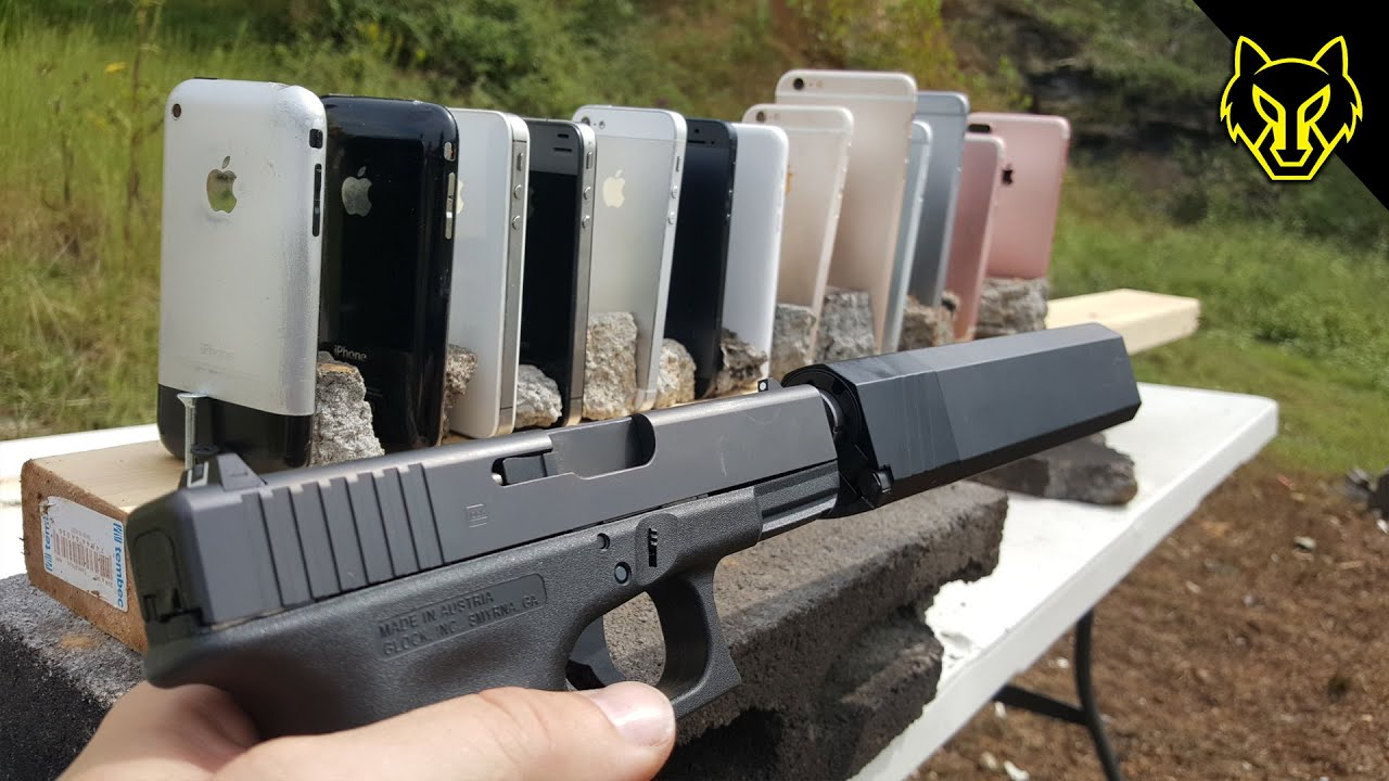 Will A Glock 19 Shoot Through Every IPhone Ever